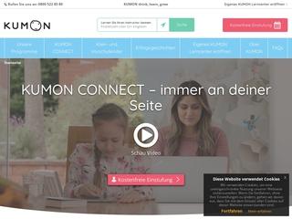 Vorschaubild der Webseite von KUMON-Lerncenter Leipzig-Gohlis