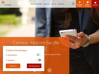 Vorschaubild der Webseite von Schwangerschafts- und Schwangerschaftskonfliktberatungsstelle