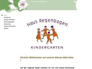 Vorschaubild der Webseite von Kindergarten Haus Regenbogen
