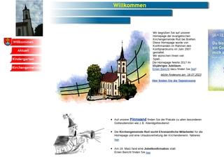 Vorschaubild der Webseite Ev. Kindergarten Zum Krabbennest