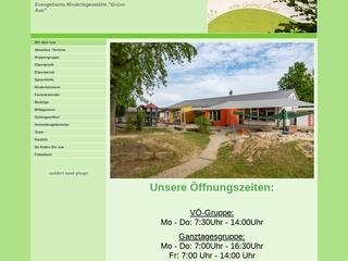 Vorschaubild der Webseite Ev. Kindergarten Turbanstraße