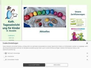 Vorschaubild der Webseite von Kindergarten St. Wendelin