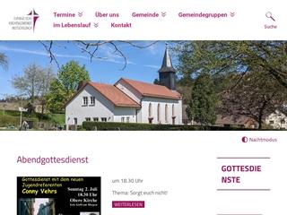 Vorschaubild der Webseite von Ev. Kindergarten Mutschelbach Himmelszelt