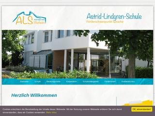 Vorschaubild der Webseite von Kindergarten für sprachbehinderte Kinder