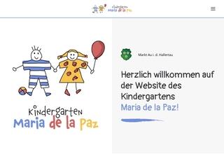 Vorschaubild der Webseite von Integrativer Gemeindekindergarten Maria de la Paz
