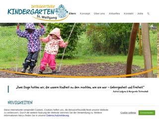 Vorschaubild der Webseite von Pfarrkindergarten St. Wolfgang
