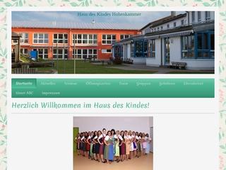 Vorschaubild der Webseite von Haus des Kindes