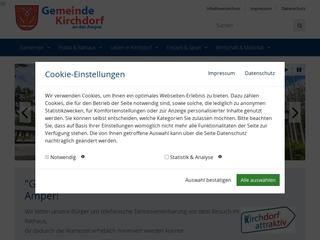 Vorschaubild der Webseite von Gemeindekindergarten Ampernest
