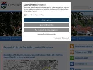 Vorschaubild der Webseite von Gemeindekindergarten Niederhummel