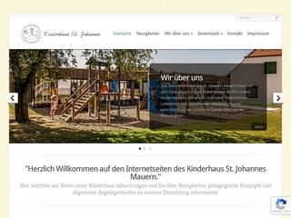 Vorschaubild der Webseite von Pfarrkindergarten St. Johannes