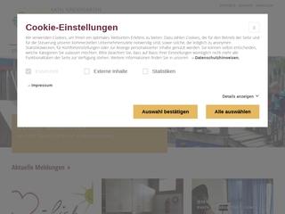 Vorschaubild der Webseite von Katholischer Kindergarten St. Lioba