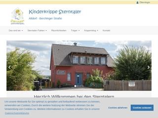 Vorschaubild der Webseite von Kinderkrippe Sterntaler