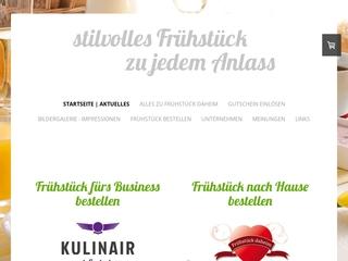 Vorschaubild der Webseite von Frühstück daheim