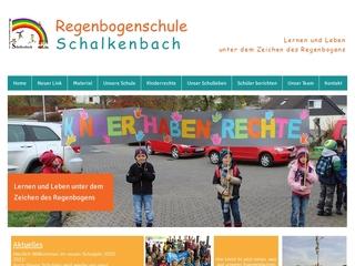 Vorschaubild der Webseite von Regenbogenschule Schalkenbach