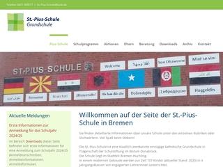 Vorschaubild der Webseite von St.-Pius-Schule