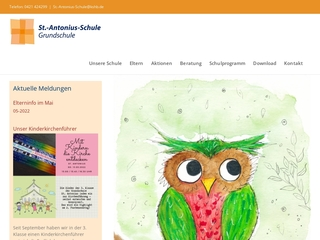 Vorschaubild der Webseite von St.-Antonius-Schule