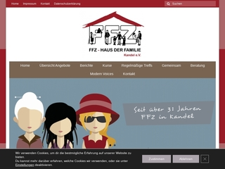 Vorschaubild der Webseite von Frauen- und Familienzentrum Kandel e.V.