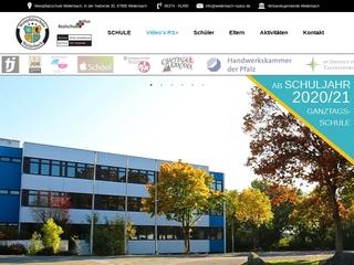 Vorschaubild der Webseite von Realschule Plus Weilerbach