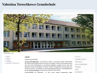 Vorschaubild der Webseite von Valentina-Tereschkowa-Grundschule