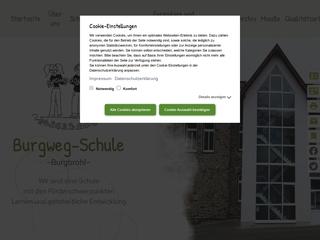 Vorschaubild der Webseite von Burgweg-Schule Burgbrohl