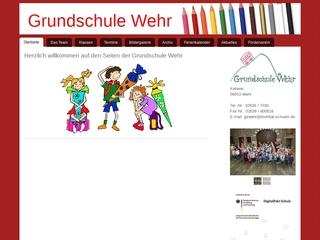 Vorschaubild der Webseite von Grundschule Wehr