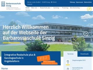 Vorschaubild der Webseite von Realschule Plus Sinzig