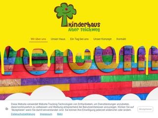 Vorschaubild der Webseite Kindertagesstätte Kinderhaus Alter Teichweg