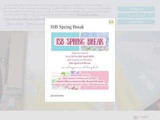 Vorschaubild der Webseite von International School of Bremen