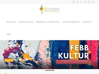 Vorschaubild der Webseite von Freie Evangelische Bekenntnisschule Bremen - Gymnasiale Oberstufe