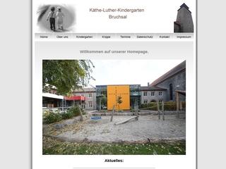 Vorschaubild der Webseite von Ev. Kindergarten Käthe Luther