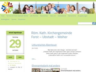 Vorschaubild der Webseite von Kath. Kindergarten St. Bernadette