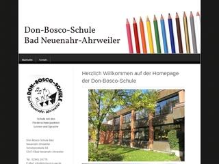 Vorschaubild der Webseite von Don-Bosco-Schule - Bad Neuenahr-Ahrweiler