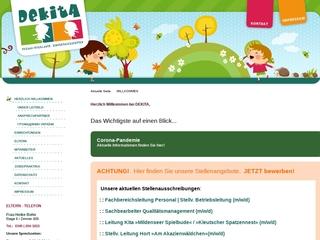 Vorschaubild der Webseite Kindertagesstätte Spielhaus
