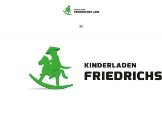 Vorschaubild der Webseite von Kinderladen Friedrichsklain