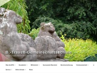 Vorschaubild der Webseite von B.-Traven-Gemeinschaftsschule