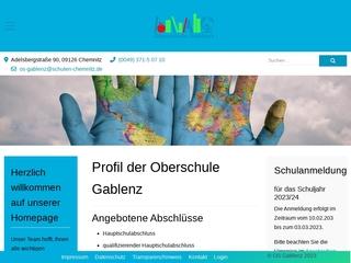 Vorschaubild der Webseite von Oberschule Gablenz