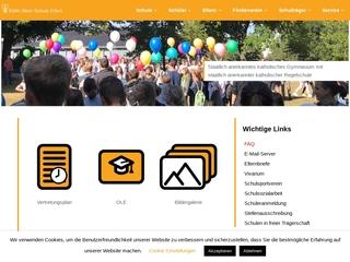 Vorschaubild der Webseite Edith-Stein-Schule