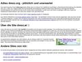 Österreichische Startseite des internationalen Webverzeichnisses