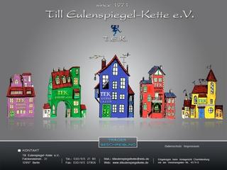 Vorschaubild der Webseite von Eltern-Initiativ-Kindertagesstätte Till-Eulenspiegel-Kette e.V.