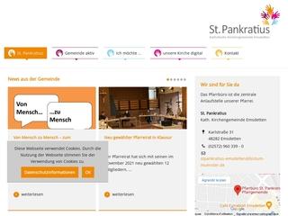 Vorschaubild der Webseite Kath. Kindergarten St. Franziskus
