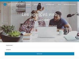 L'annuaire des agences web en Suisse