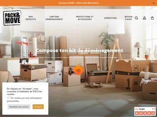 Déménager pas cher, avec un kit de déménagement c'est possible et en un clic !
