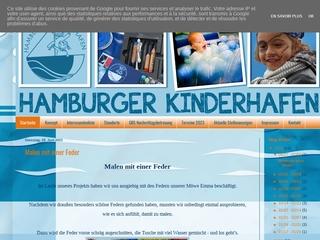 Vorschaubild der Webseite Kindertagesstätte Hamburger Kinderhafen