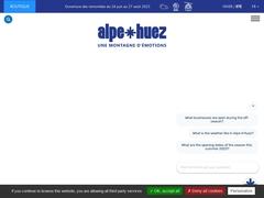 Alpe d'Huez grand domaine Ski, domaine skiable France, Isère