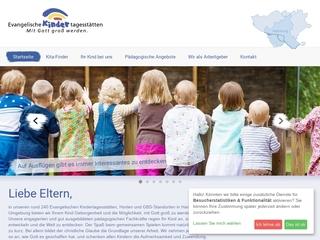 Vorschaubild der Webseite Ev. Kindertagesstätte Dreifaltigkeitskirche