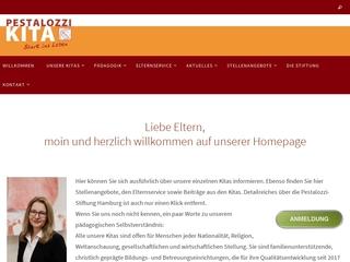 Vorschaubild der Webseite Kindertagesstätte Alte Forst