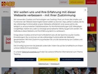 Vorschaubild der Webseite ASB Kindertagesstätte Lerche