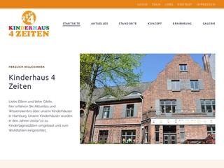 Vorschaubild der Webseite Kinderkrippe Kinderhaus 4Zeiten