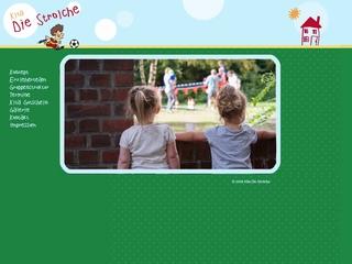 Vorschaubild der Webseite Kindertagesstätte Die Strolche