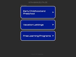 Vorschaubild der Webseite Kindertagesstätte Manuelita